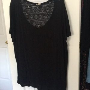 Black Textured Back w/ Pictured Tiny Stain